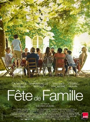"""Affiche """"Fête de famille"""""""