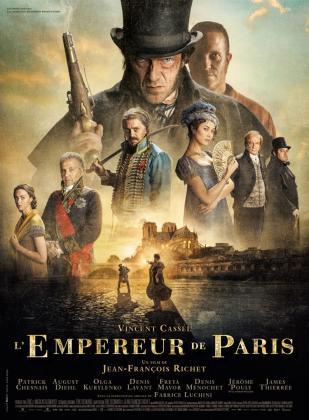 """Affiche """"L'Empereur de Paris"""""""