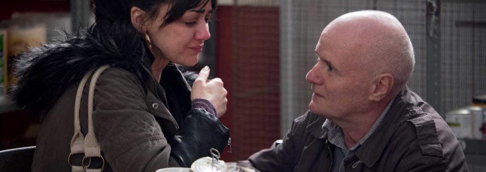 Dave Johns et Hayley Quires dans le film Moi, Daniel Blake